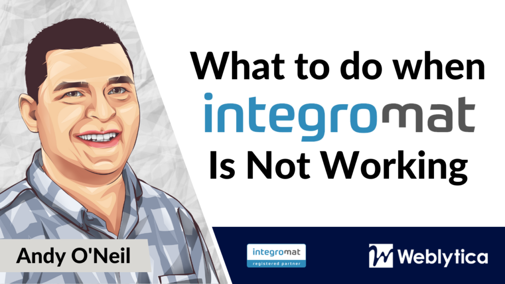 What to do when Integromat Not Working